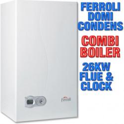 FERROLI DOMICONDENS 26KW GAS BOILERS COMBI CONDENSING HEATING WI