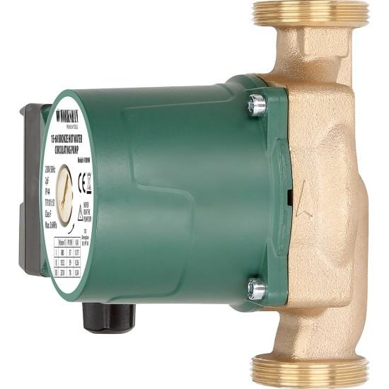 15-60 BRONZE HOT WATER CIRCULATING PUMP  SUITABLE FOR 5 - 6M HEAD