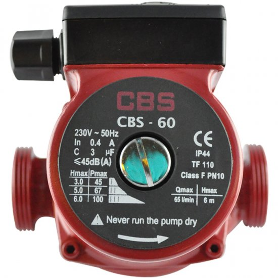 CBS 60 Central Heating Pump
