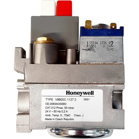 "HONEYWELL V8800C1127 GAS VALVE 3/4"""